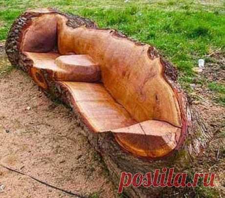 Садовые скамейки, изготовленные дачниками — 6 соток