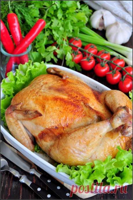 Фаршированная курица - 22 рецепта!