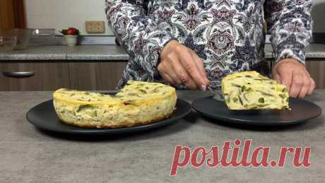 Как приготовить итальянскую Фриттату из яиц, кабачков и грибов | Сейчас Приготовим! | Пульс Mail.ru