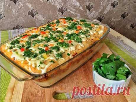 Картофельная запеканка с начинкой, которая порадует всю семью вкусным и сытным ужином — Советы для женщин