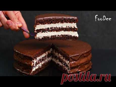 Шоколадный торт Стаканчиковый БЕЗ весов! Вкуснейший и сочный домашний торт