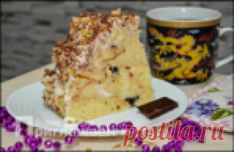 Любимый торт моего мужа: готовить быстро и получается даже у тех, кто не умеет печь бисквит