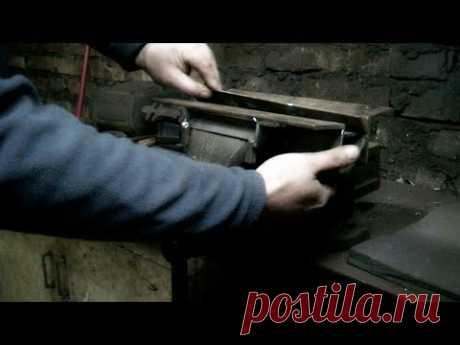 Листогиб из тисков | Гибочный станок своими руками - YouTube