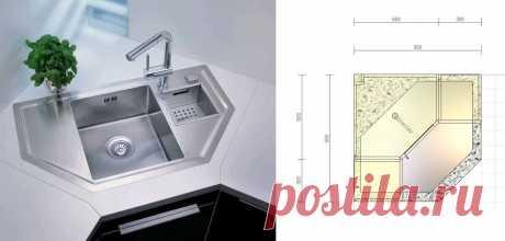 Решили делать угловую кухню? А теперь давайте подумаем, как лучше спланировать угловые шкафы-тумбы внутри | Мебель своими руками | Яндекс Дзен