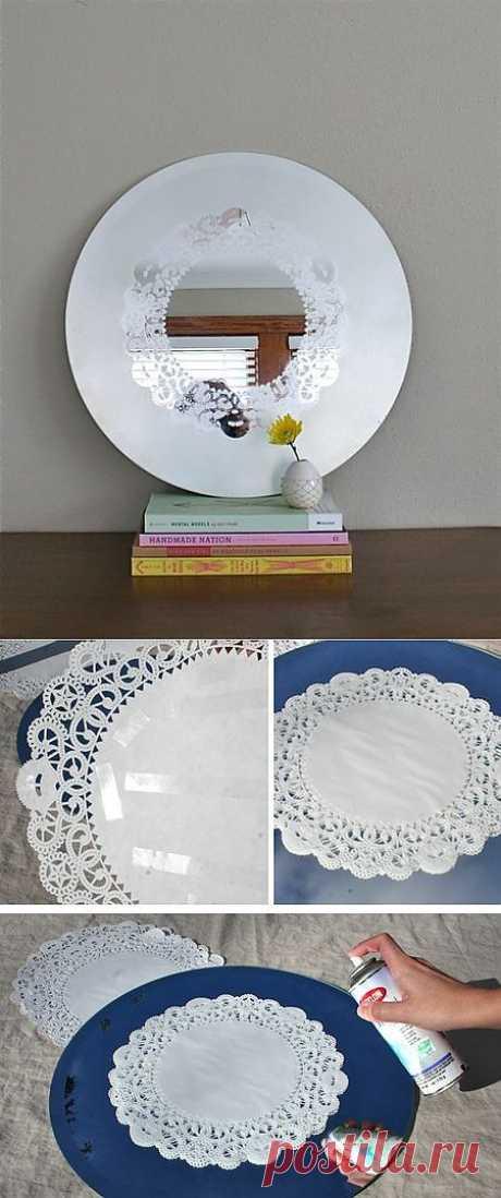 Необычный декор зеркала (Diy) / Ванна / Модный сайт о стильной переделке одежды и интерьера