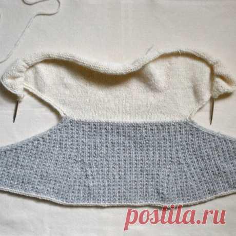 Вяжем милый шарфик-воротник из категории Интересные идеи – Вязаные идеи, идеи для вязания