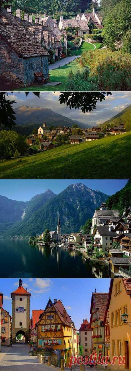 (+1) тема - 8 самых маленьких и красивых городов Европы | Занимательный журнал
