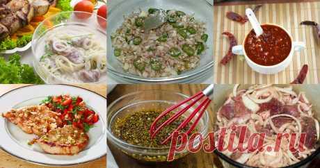 Маринад для свинины - 16 рецептов приготовления пошагово - 1000.menu Маринад для свинины - быстрые и простые рецепты для дома на любой вкус: отзывы, время готовки, калории, супер-поиск, личная КК