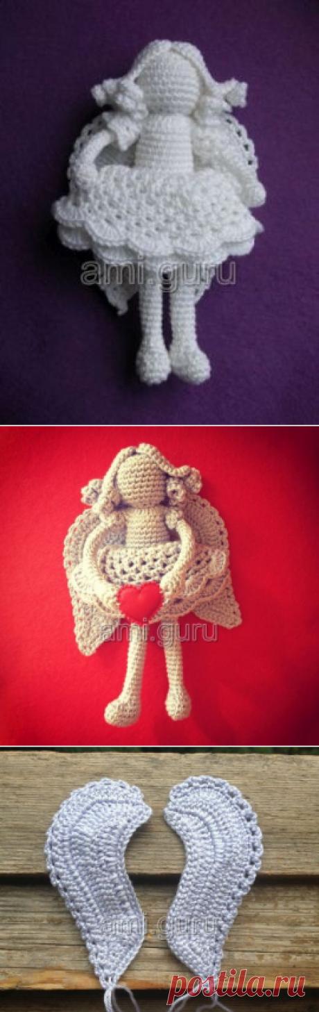 Вязаный ангел Эльжбеты Павелец — Вязаные игрушки. Амигуруми всех стран, соединяйтесь