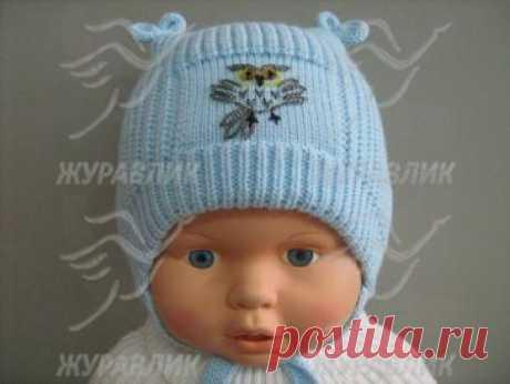 как вязать шапочку для новорожденного: 25 тыс изображений найдено в Яндекс.Картинках