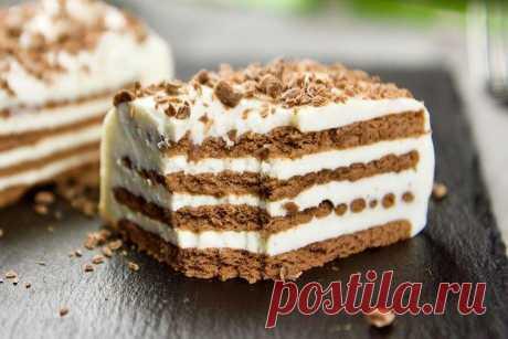 Торт без выпечки за 15 минут - вкусные рецепты пошагово (с фото)