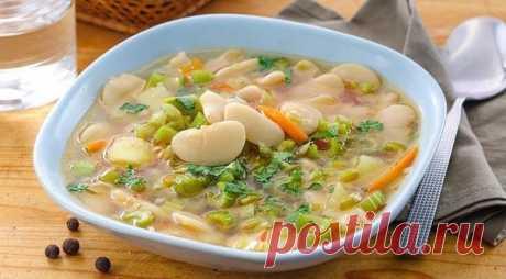 10 вкусных низкокалорийных супов