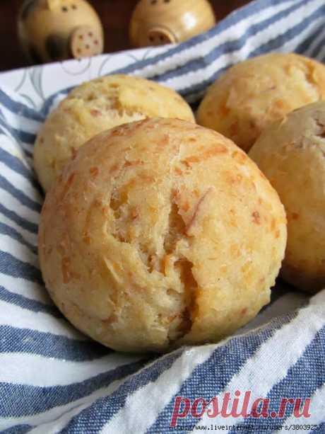 Обалденные булочки с колбасным сыром