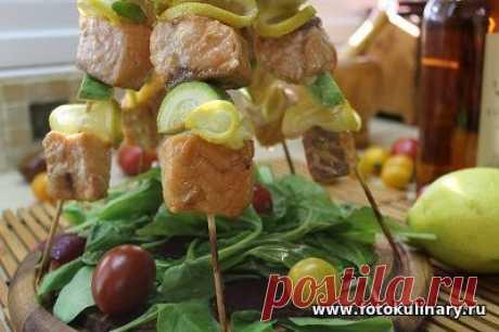 Рыбные шашлычки - Вторые блюда - Кулинарные рецепты ! - ФотоКулинария