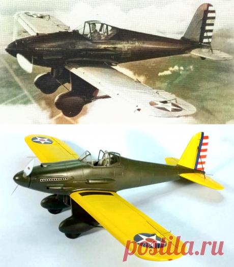 "Curtiss ХP-31 Swift — экспериментальный ""Стриж"" — archivetechburo.ru"