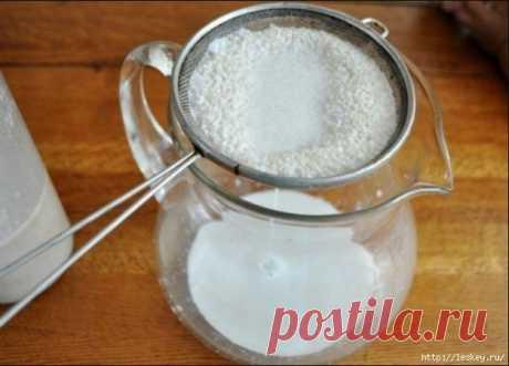 Кунжутное молоко - величайший источник кальция