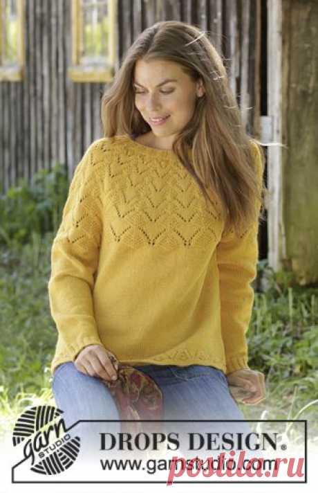 Джемпер Golden Fairy - блог экспертов интернет-магазина пряжи 5motkov.ru
