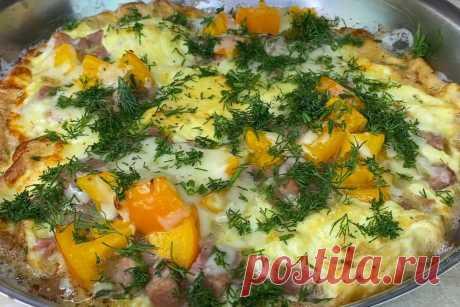 Сіданок по-італійськи: фріттата на сковороді за 10 хвилин Ця страва — справжня насолода!