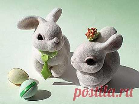 МК валяние. Пасхальные кролики / Мастер классы по валянию из шерсти / PassionForum - мастер-классы по рукоделию