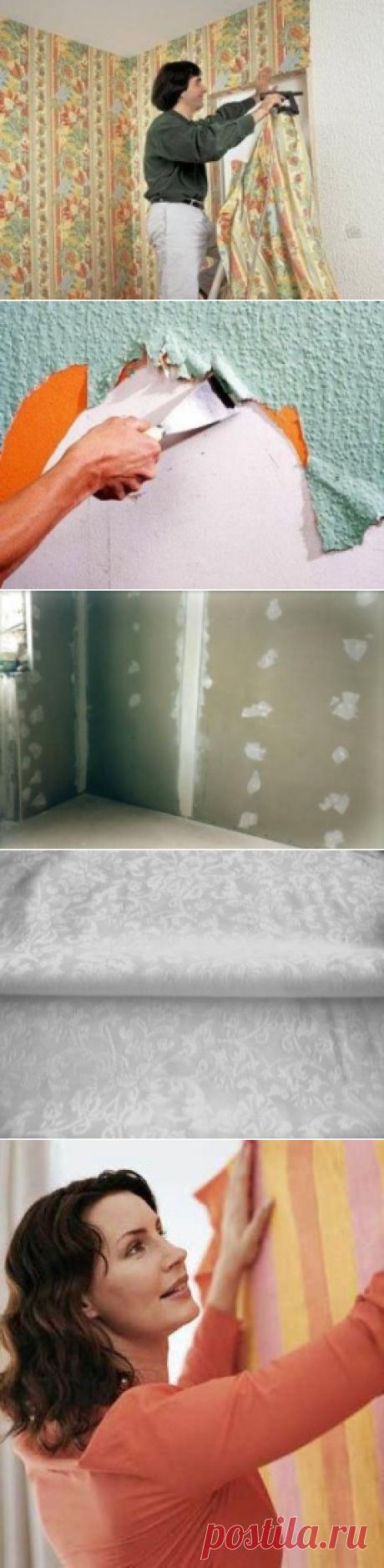 Варианты внутренней отделки стен с помощью ткани