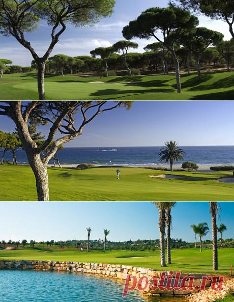 Campos de Golfe no Algarve   Popular Villas