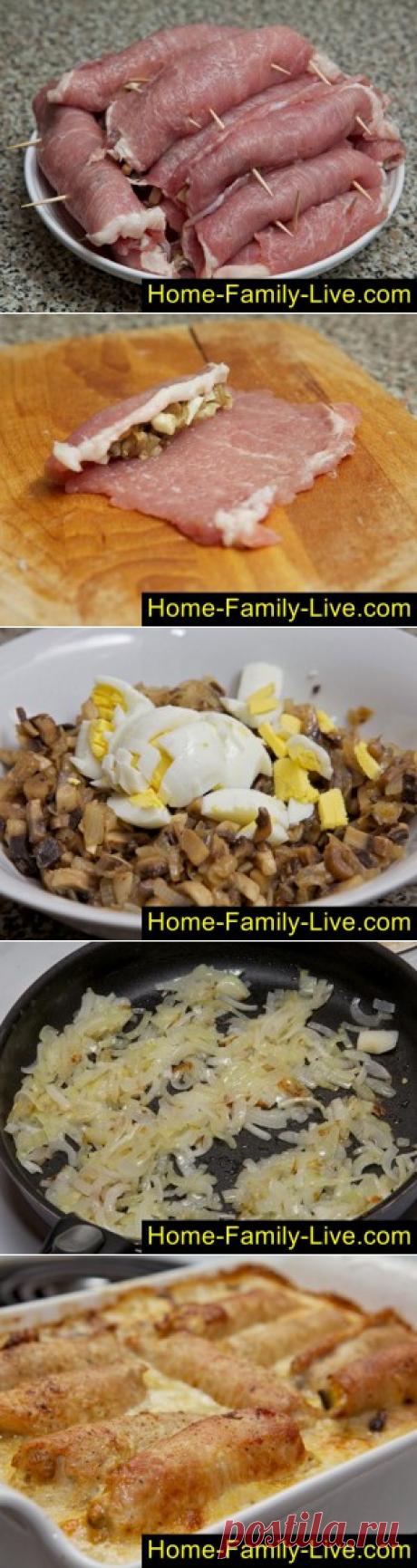 Крученики/Сайт с пошаговыми рецептами с фото для тех кто любит готовить