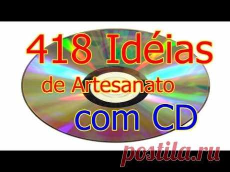 418 Ideas de artesanía con CD