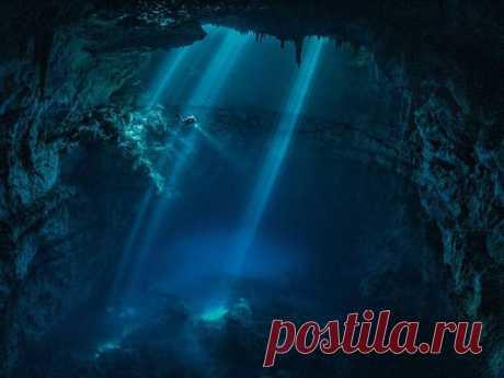Исследование пещеры