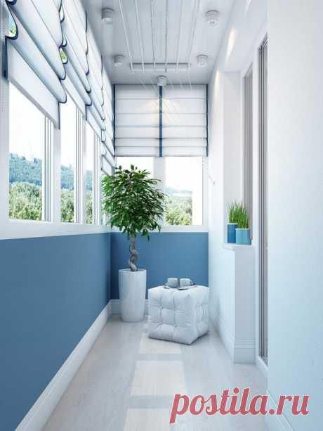 Какое напольное покрытие идеально для остекленного и неостекленного балкона — Полезные советы