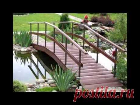 Декоративные садовые мостики украсят ваш сад