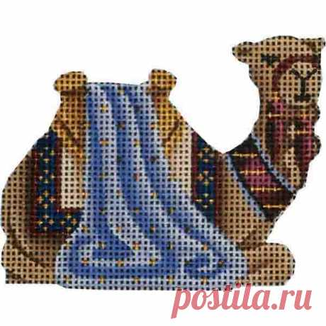 Small Nativity – Blue Camel Adorable high-quality Small Nativity - Blue Camel. The Needlepointer is a full-service shop specializing in hand-painted canvases, thread fibers, needlepoint books, accessories, needlepoint classes and much more.