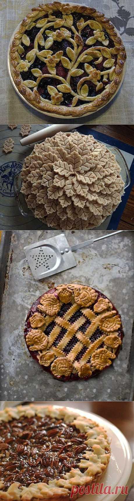 Как сделать пирог еще красивее (часть-1 ) | Наш дом