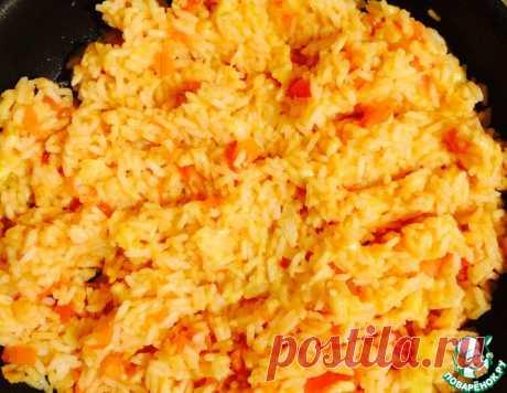 Рис с сыром и помидорами – кулинарный рецепт