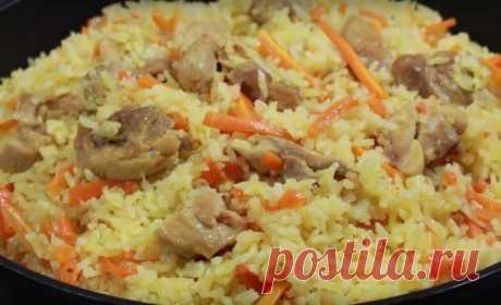 Рассыпчатый плов на сковороде: ароматное и сытное блюдо для обеда и ужина