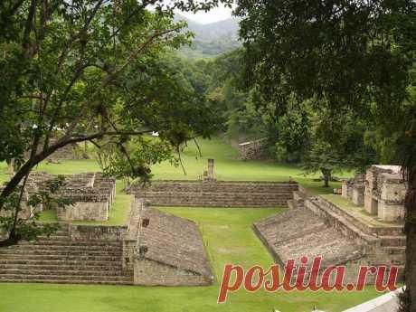 Древние храмы майя