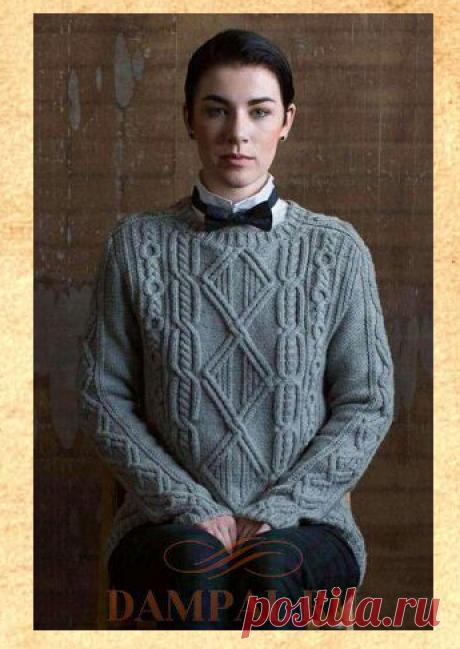 Вязаный пуловер «Cash» | DAMские PALьчики. ru