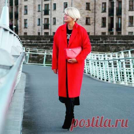 Красный цвет в возрастной моде 2019 - 17 идей, которые сделают вас королевой
