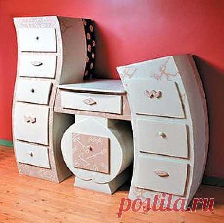 Вечерком - Мебель из картона