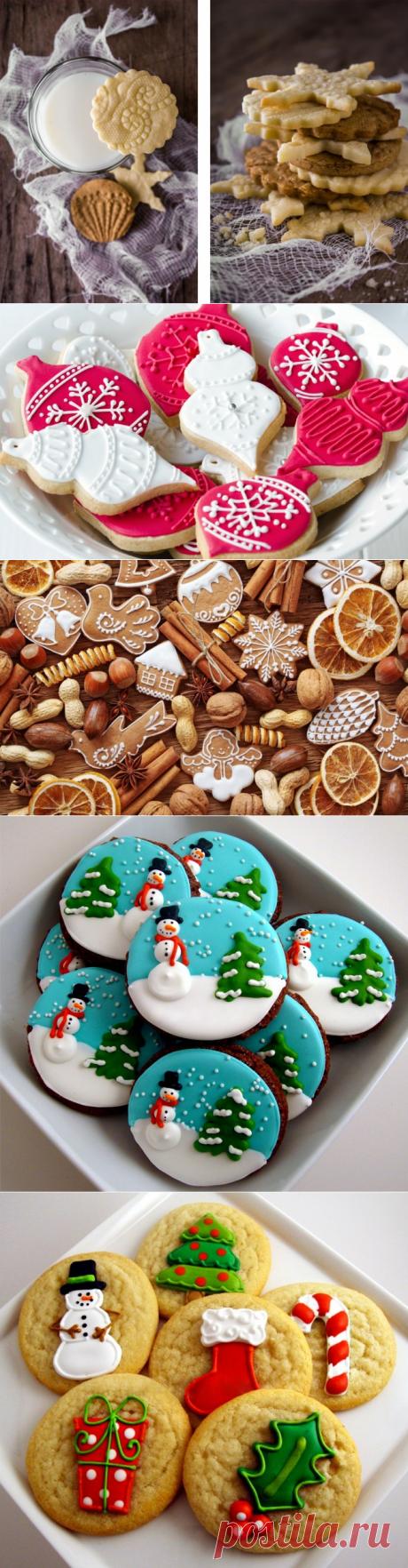 El humor de Año Nuevo acecha en todas partes;)) las Recetas del glaseado para de Año Nuevo pechenyushek — las recetas Sabrosas