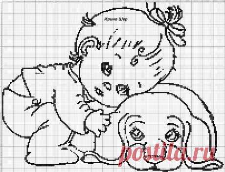 «Так что же можно вышивать детям в стиле монохром?» — карточка пользователя Ирина Ш. в Яндекс.Коллекциях