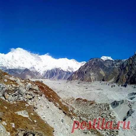 Ледник по дороге на озёра Гокиа. #гокиа,#озеро,#гималаи,#горы,#непал,#путешествия
