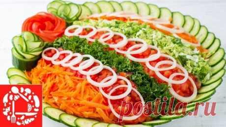 НОВИНКА! Праздничный Салат с Курицей! Необычный и потрясающе Вкусный!