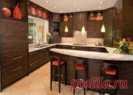 Вам нравится такая кухня? Что бы вы поменяли?