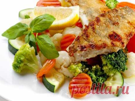 Блюда из рыбы с овощами. 10 рецептов для легкого ужина