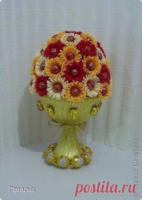 Букеты из конфет с Мариной Бердинских