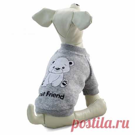 Толстовка Triol TR73-74 для собак – купить недорого в интернет-магазине товаров для собак ЮниЗоо.ру. Отзывы, цены и доставка по Москве и России.