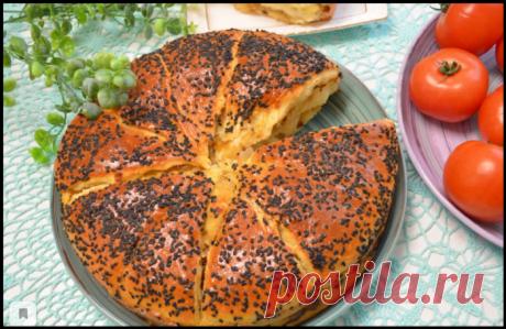 КУБАНСКИЙ ЛУКОВНИК - необычный и вкусный пирог - пошаговое приготовление на видео