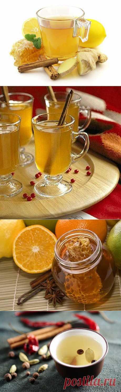5 рецептов согревающих медовых напитков.