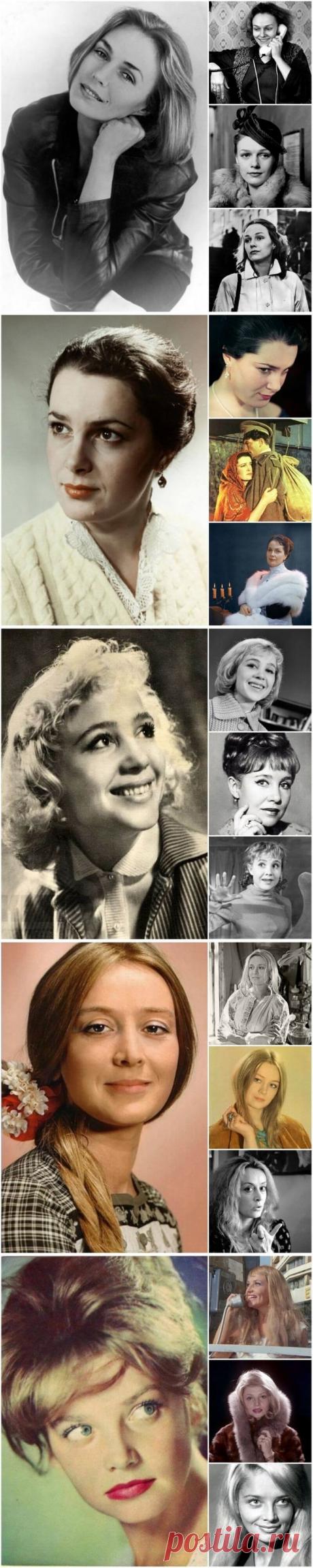 25+ самых красивых актрис СССР, ради которых стоит пересмотреть советские фильмы   В темпі життя