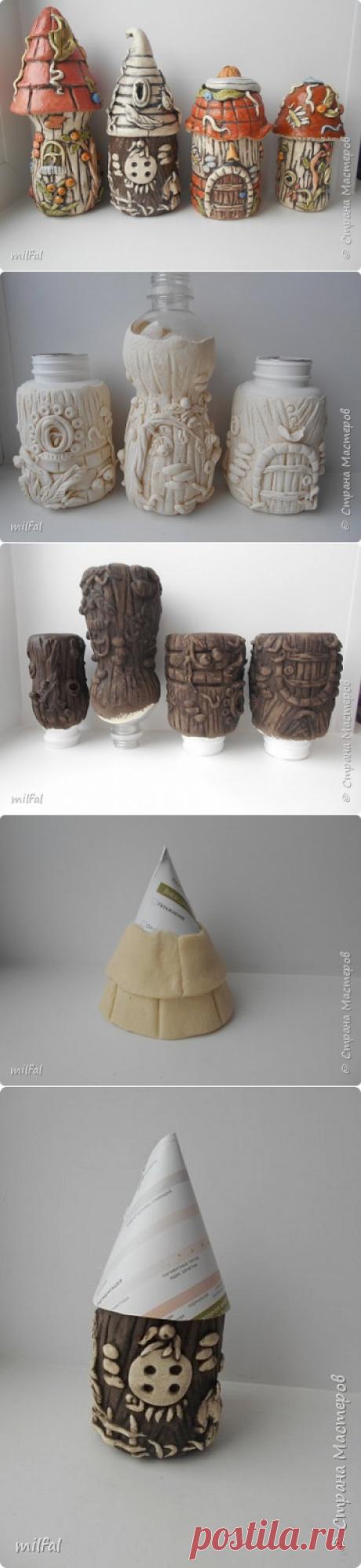 Домики из солёного теста — Сделай сам, идеи для творчества - DIY Ideas